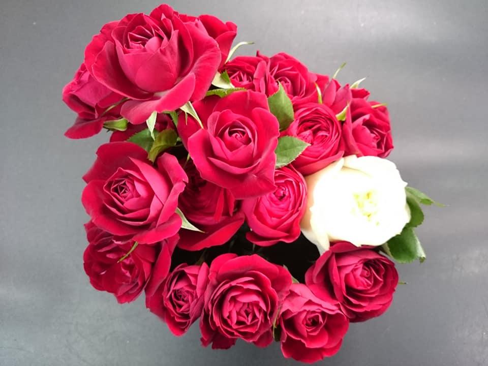 花束 バレンタインデー