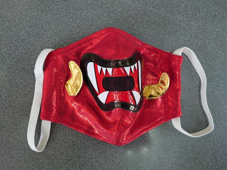 布マスク 獣神サンダーライガー